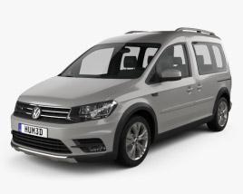 Volkswagen Caddy Alltrack 2016 3D model