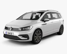 Volkswagen Touran R-Line 2015 3D model