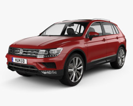Volkswagen Tiguan 2015 3D model