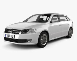 Volkswagen Gran Lavida 2013 3D model