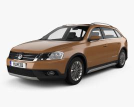 Volkswagen Cross Lavida 2013 3D model