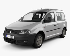 Volkswagen Caddy 2004 3D model