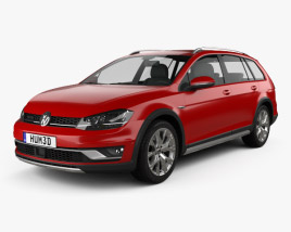 Volkswagen Golf Alltrack 2015 3D model