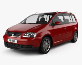 Volkswagen Touran 2003 3D model