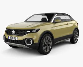 Volkswagen T-Cross Breeze Concept 2016 3D model