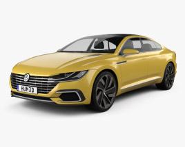 Volkswagen Sport Coupe GTE 2015 3D model