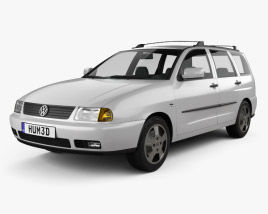 Volkswagen Polo Variant 1997 3D model