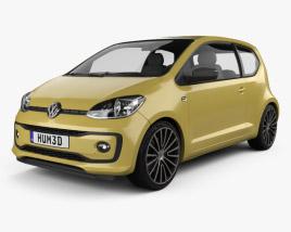 Volkswagen Up Style 3-door 2017 3D model