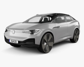 Volkswagen ID Crozz 2017 3D model