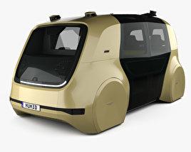 Volkswagen Sedric with HQ interior 2017 3D model