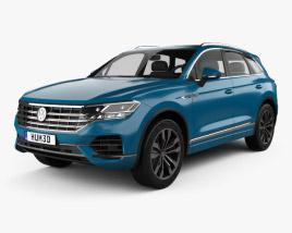 Volkswagen Touareg Elegance 2018 3D model