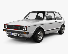 Volkswagen Golf GTI 1975 3D model