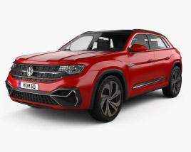 Volkswagen Atlas Cross Sport 2018 3D model
