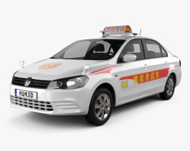 Volkswagen Jetta CN-specs Taxi 2013 3D model