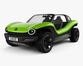 Volkswagen ID Buggy 2019 3D model