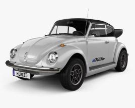 Volkswagen e-Beetle 2019 3D model