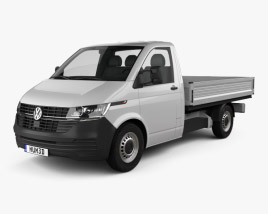 Volkswagen Transporter Single Cab Pickup L2 2019 3D model