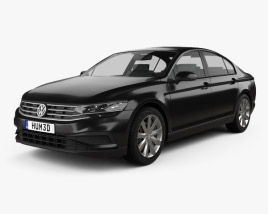 Volkswagen Passat sedan 2019 3D model