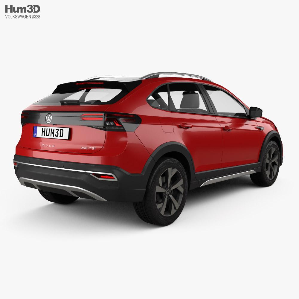 Volkswagen Nivus BR-spec 2021 3d model