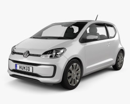 Volkswagen Up 3-door 2016 3D model