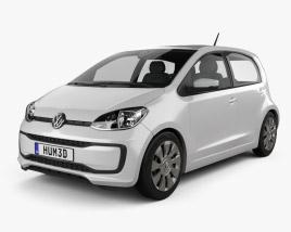 Volkswagen Up 5-door 2016 3D model