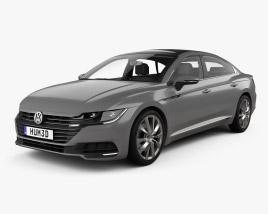 Volkswagen Arteon Elegance with HQ interior 2017 3D model