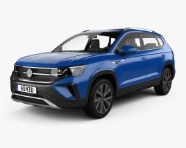 Volkswagen Taos 2022 3D model