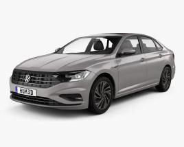 Volkswagen Sagitar 2019 3D model