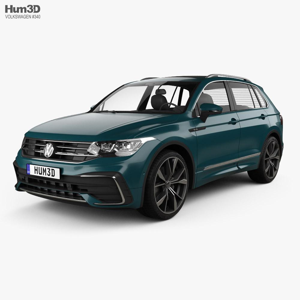 Volkswagen Tiguan R-Line 2020 3d model