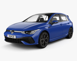 Volkswagen Golf R-Line 5-door hatchback 2022 3D model