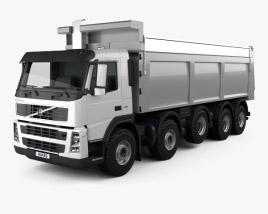 Volvo FM Truck 10×4 Dumper 2010 3D model