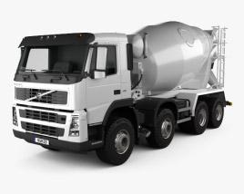 Volvo FM Truck 8×4 Mixer 2010 3D model