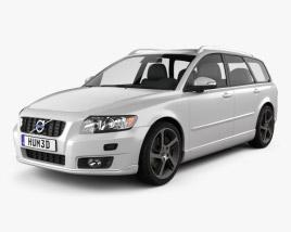 Volvo V50 Classic 2011 3D model