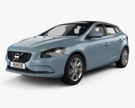 Volvo V40 2013 3D model