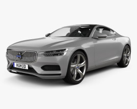 Volvo XC Concept Coupe 2013 3D model