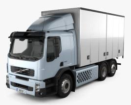 Volvo FE Hybrid Box Truck 2011 3D model