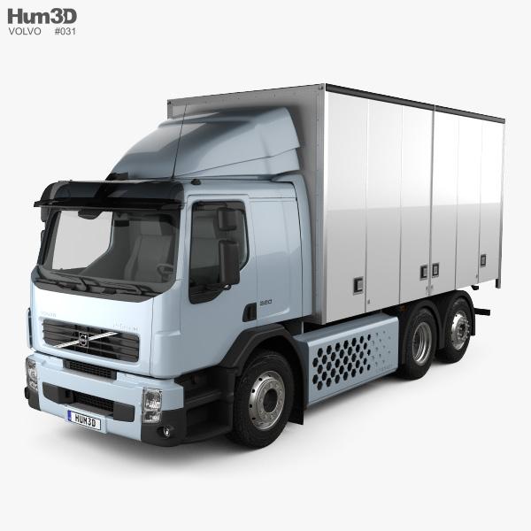 Volvo Fe Hybrid Box Truck 2017 Model