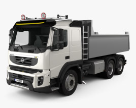 Volvo FMX Tipper Truck 2010 3D model