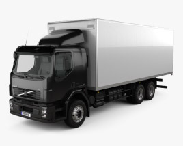 Volvo VM Box Truck 2003 3D model