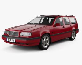 Volvo 850 wagon 1992 3D model