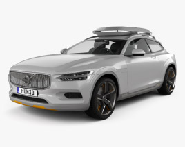 Volvo XC Coupe 2013 3D model