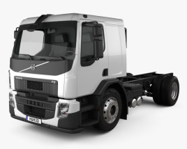 Volvo FE Chassis Truck 2-axle 2013 3D model