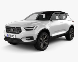 Volvo 40.1 2016 3D model