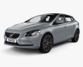 Volvo V40 T4 Momentum 2016 3D model