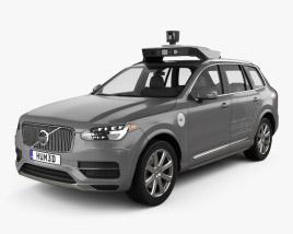 Volvo XC90 T8 Uber 2015 3D model