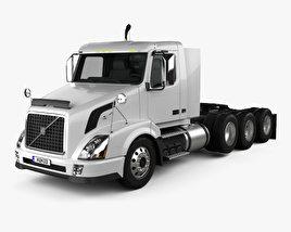 Volvo VNX (300) Tractor Truck 4-axle 2010 3D model