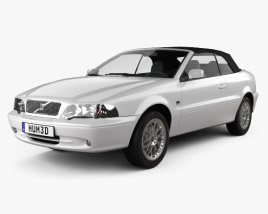 Volvo C70 convertible 1999 3D model