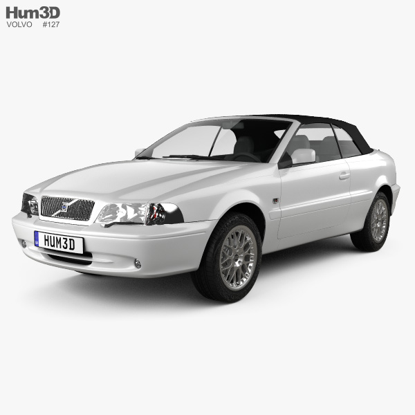 Volvo C70 Convertible >> Volvo C70 Convertible 1999 3d Model Vehicles On Hum3d
