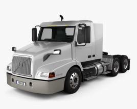 Volvo VNL WIA64T Day Cab Tractor Truck 2000 3D model