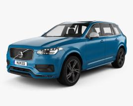 Volvo XC90 T6 R-Design 2016 3D model